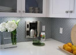 Glass Tile Backsplash With White Cabinets Pretty Glass Kitchen Backsplash White Cabinets Ellajanegoeppinger