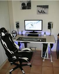 Pc Gaming Desk Chair 346 Best Gamming Rooms Images On Pinterest Desk Setup Computer
