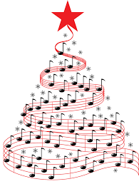 Music Note Christmas Tree Ornament by Christmas Tree With Music Christmas Lights Decoration