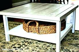 coffee table with baskets under coffee table with storage baskets side table with wicker baskets