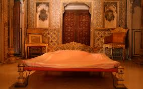 file royal bedroom at chandra mahal junagarh fort bikaner jpg