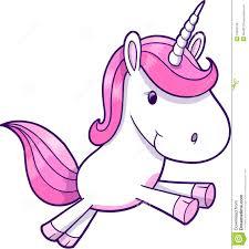 pink unicorn vector royalty free stock image image 10564106
