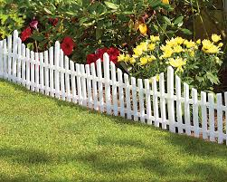 modern garden edging fence with garden edging fence panels