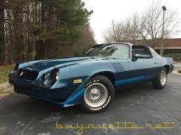 blue 1979 camaro 1979 chevrolet camaro z28 t top for sale at buyavette atlanta