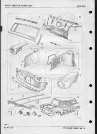Mini Cooper Info Index Of Morris Mini Mini Cooper U0026 S Type Body Parts List Akd3510