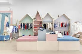 Home Design Stores Rome Childrens Clothing Shop In Kyiv Ukraine Designed By Lena