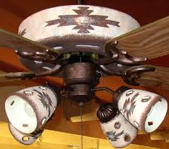 western ceiling fans with lights ceiling fan southwestern ceiling fan gonna change them all out to
