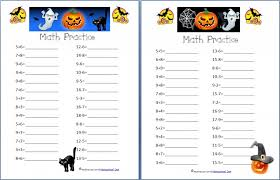 free halloween math worksheets addition subtraction coins and