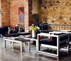 modern rustic home interior u2013 warehouse conversion in barcelona