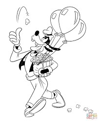 goofy coloring pages free coloring pages