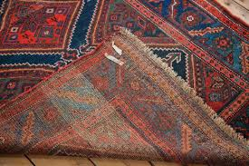 Tribal Area Rug 4x6 Blue And Antique Tribal Area Rug