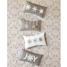 Eastern Accents Bedding Eastern Accents Snowflake Joy Pillow Studio 773 By Eastern Accents