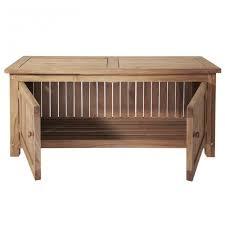 keymar teak outdoor storage bench 4 ft or 5 ft outdoor