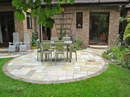 garden patio design ideas circular patio designs small paver patio
