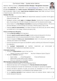 Management Consulting Resume Examples by Director Of Business Planning Resume Make Your Mark In Finance