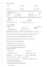 cbse ncert math 8th exponents u0026 powers worksheet