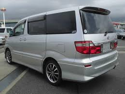toyota alphard 2 4i 4wd 2002 in silver wellhouse leisure