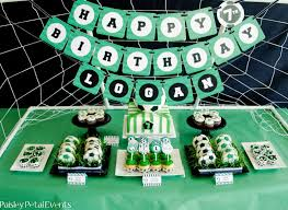 soccer party ideas soccer party a to zebra celebrations