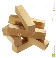 stack of wood blocks stock image image of timber wood 54950657