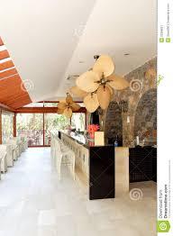 greek bar interior at luxury hotel royalty free stock photography