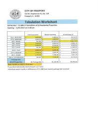 for bid city of freeport illinois finance department