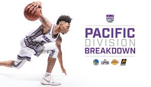 Nba Divisions Map Schedule Breakdown Pacific Division Sacramento Kings