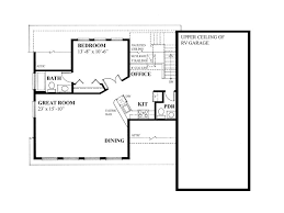 Garage Floor Plans With Living Quarters Garage Apartment Plans Garage Apartment Plan With 3 Car Bays And