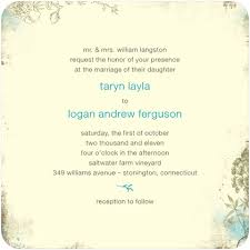 what to put on a wedding invitation what do you put on a wedding invitation 7297