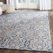 Damask Kitchen Rug Safavieh Sofia Vintage Damask Blue Beige Distressed Rug 5 U00271 X 7
