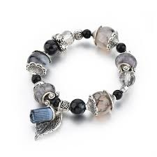 crystal charm bracelet beads images Crystal charm bracelet for her duluminati jpg