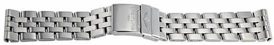 breitling steel bracelet images 366a breitling pilot 20 18 stainless steel bracelet jpg