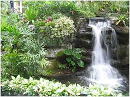 backyards trendy how to build a garden waterfall pond diy tag