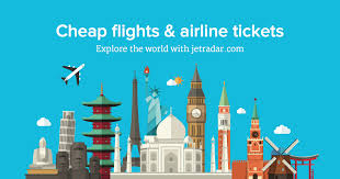 cheap flights and airline tickets jetradar