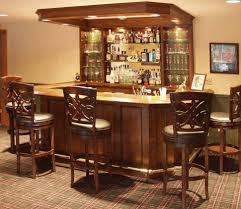 home bar area decorations friendly home bar design idea with open glass