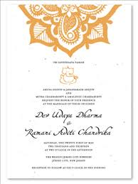 plantable wedding invitations for 15 colorful indian wedding invitations