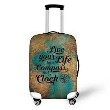 travel suitcase images Luggage protective cover 18 30 travel suitcase covers spandex jpg