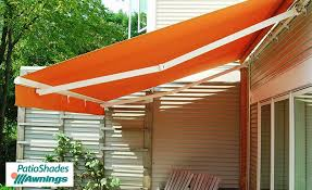 Cost Of Retractable Awning Regal Motorized Patio Shades Retractable Awnings