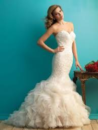 strapless sweetheart unique mermaid lace wedding dress queen of