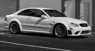 mercedes clk amg black series beautiful mercedes clk 63 amg black series posing on custom wheels