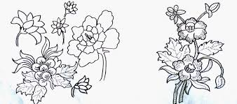 guru batik blog membuat desain motif tumbuhan binatang