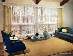 1950s Home Stylish Vintage Window Coverings From The Fifties 1956 Click