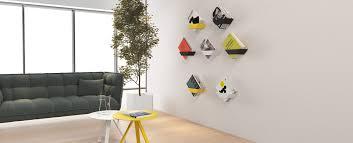 koku wall mounted bookshelves