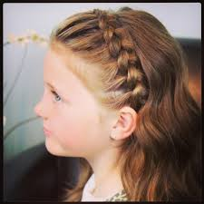 Simple Girls Hairstyles by Little Hairstyles For Long Hair Braids For Little Girls With