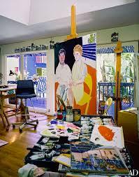 Artist David Hockney U0027s West Coast Home David Hockney Artist And