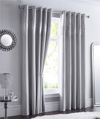 Grey And Silver Curtains Silver Diamante Curtains Www Redglobalmx Org