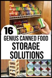 how to store food in a cupboard pantry storage ideas 16 top canned food storage hacks