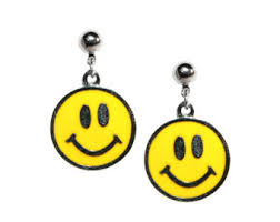 smiley face tattoo etsy