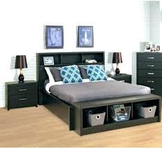 6 Drawer Bed Frame Black Bed Frame With Storage Platform Storage Bed