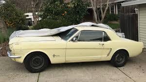 1965 yellow mustang 1965 mustang