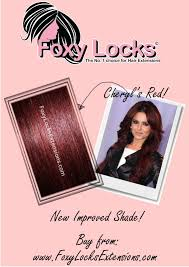 Foxy Clip In Hair Extensions by Imogen Foxy Locks Mahogany Red New Foxy Locks Extensions Colour